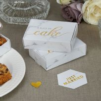 Scripted Marble Cake Boxes (10)